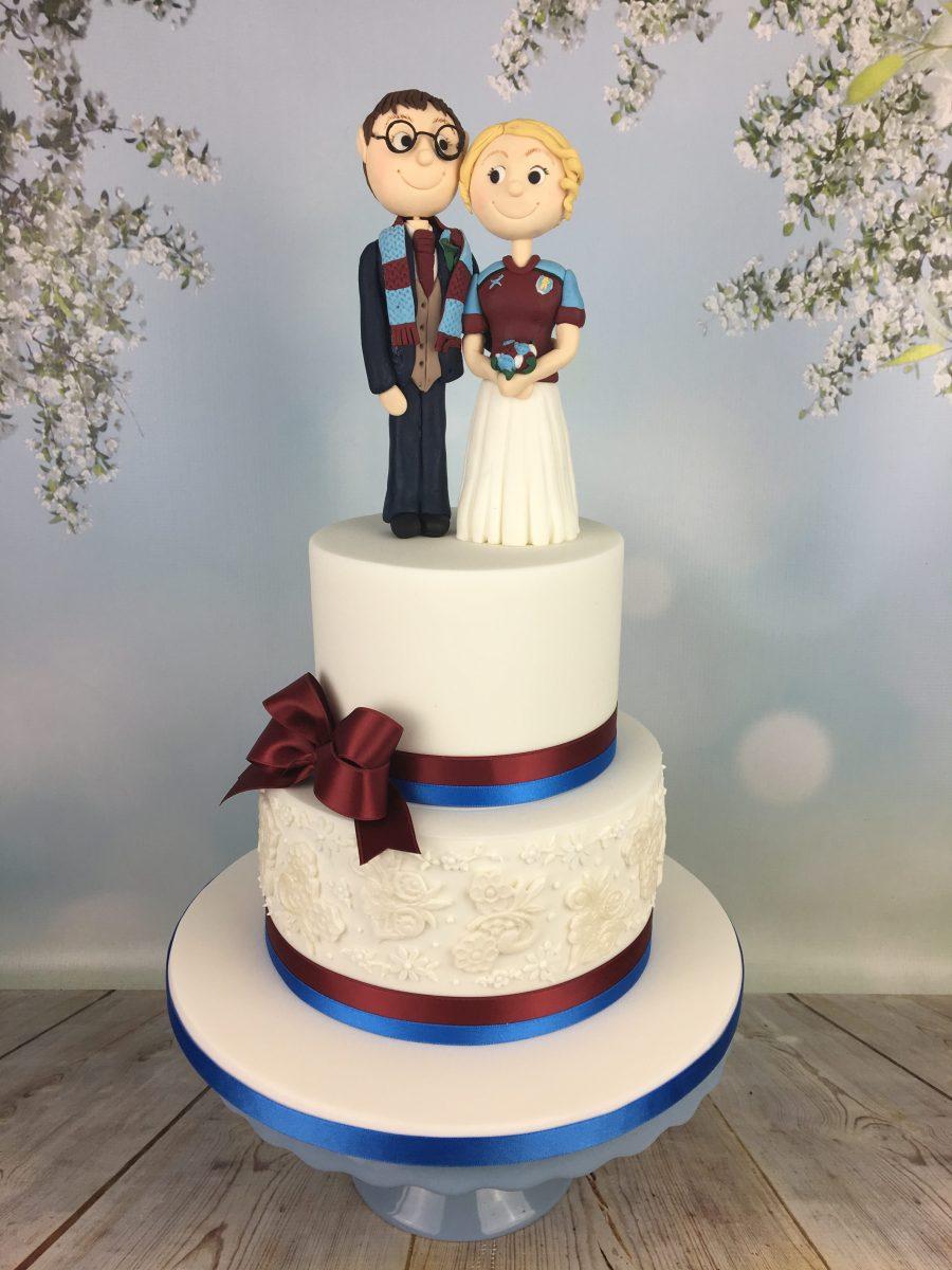 West Ham Football Wedding Cake Mel S Amazing Cakes
