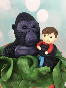 King Kong Cake topper