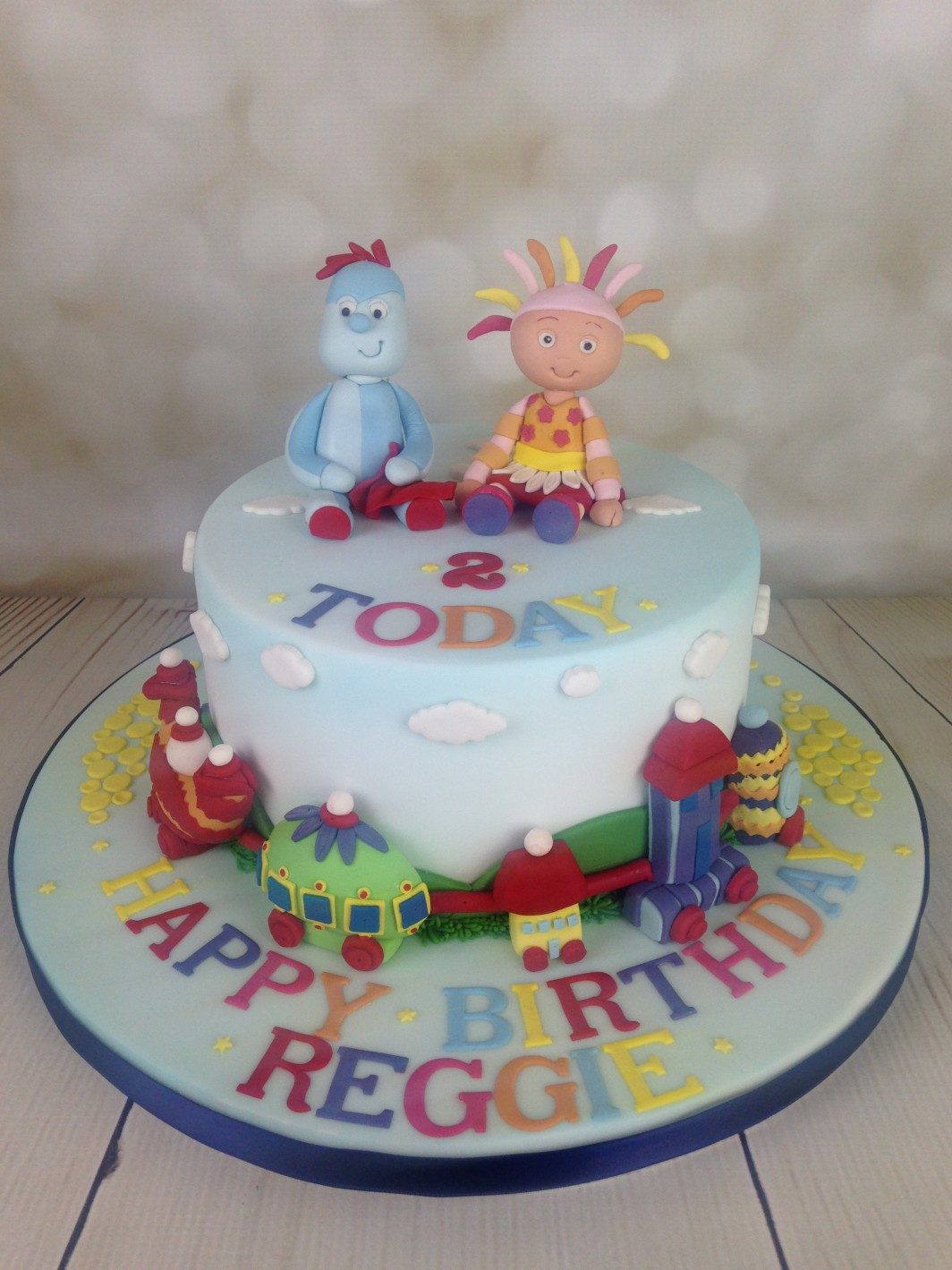 In The Night Garden 2nd Birthday Cake Archives Mels Amazing Cakes