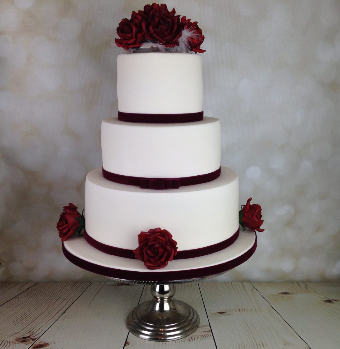 wedding cake red velvet roses wedding cake mel s amazing cakes 23659