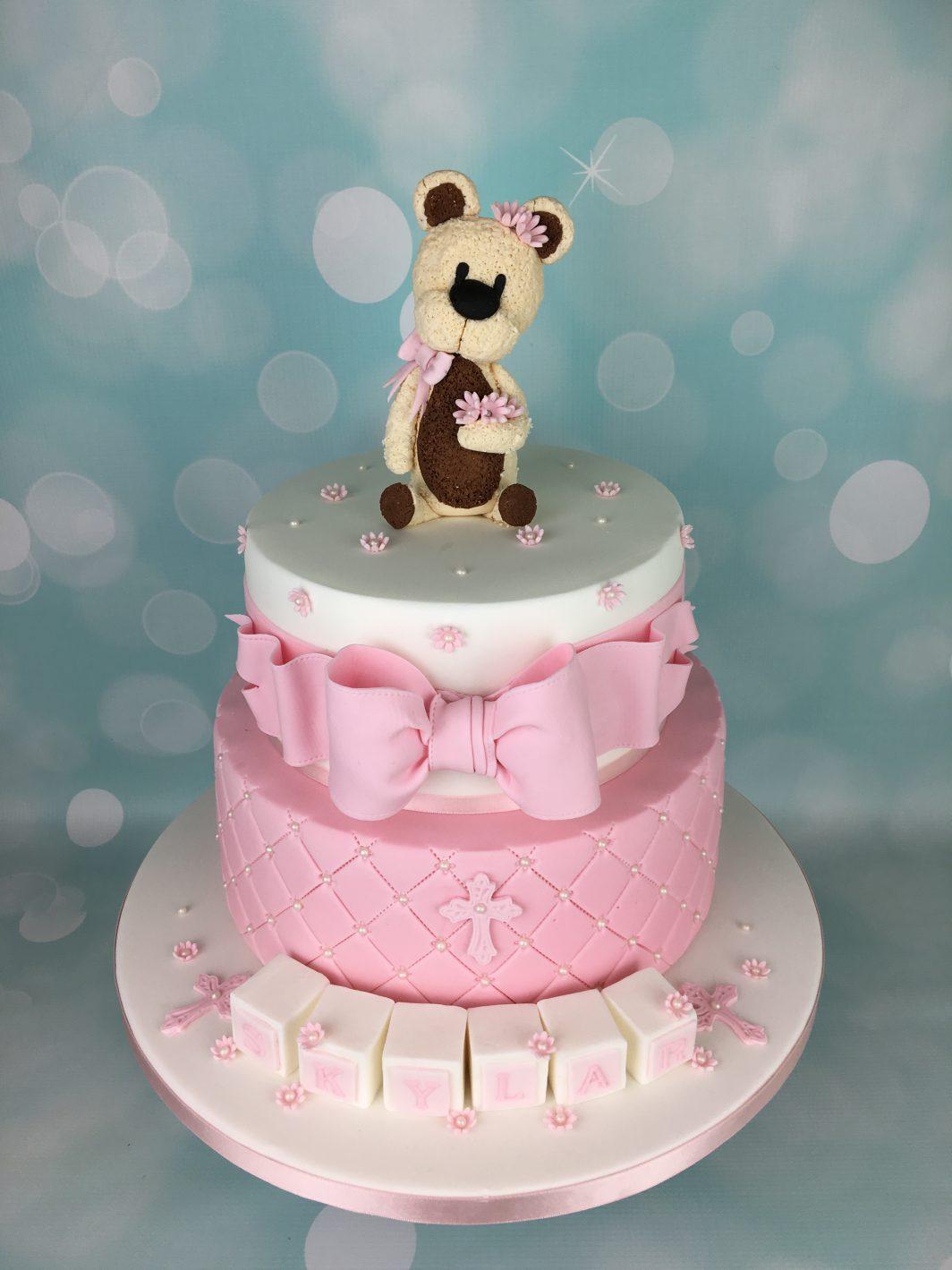 Pink Bow cake
