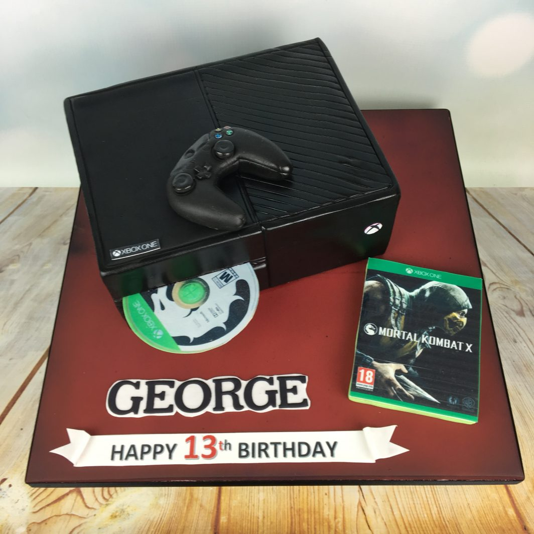 Xbox One Birthday cake Mels Amazing Cakes