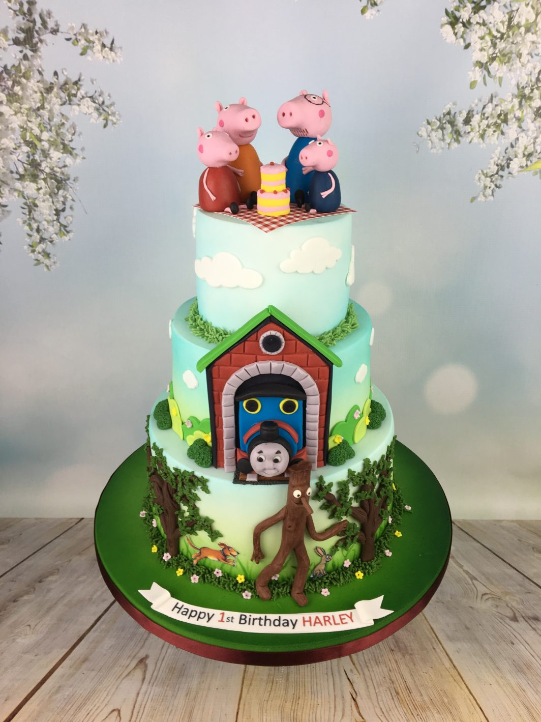 Thomas The Tank Engine 1st Birthday Cake Archives