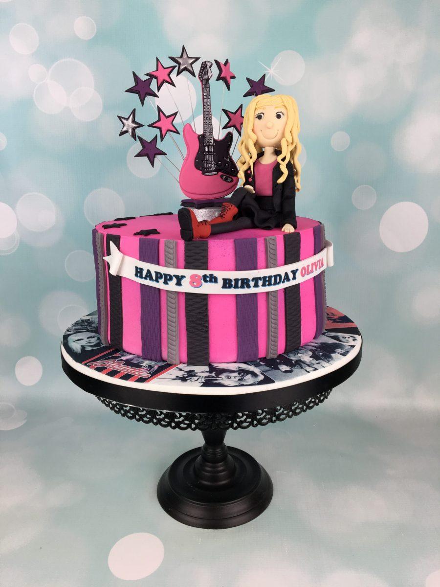 Rock Chick Birthday Cake Mels Amazing Cakes
