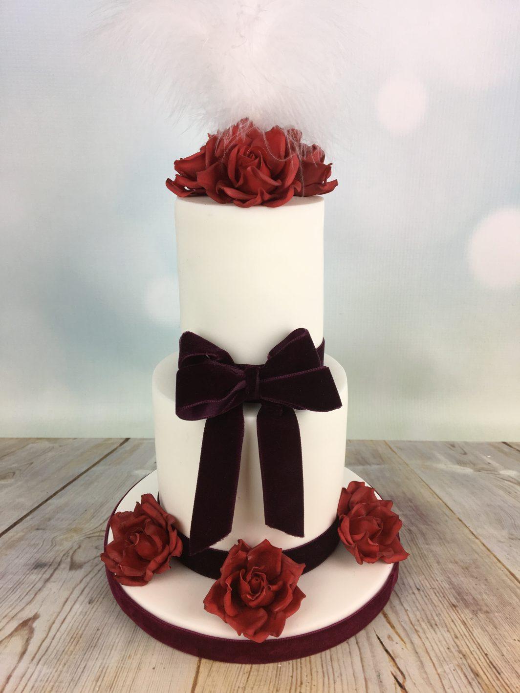 Red Velvet Wedding Cake Archives Mel S Amazing Cakes