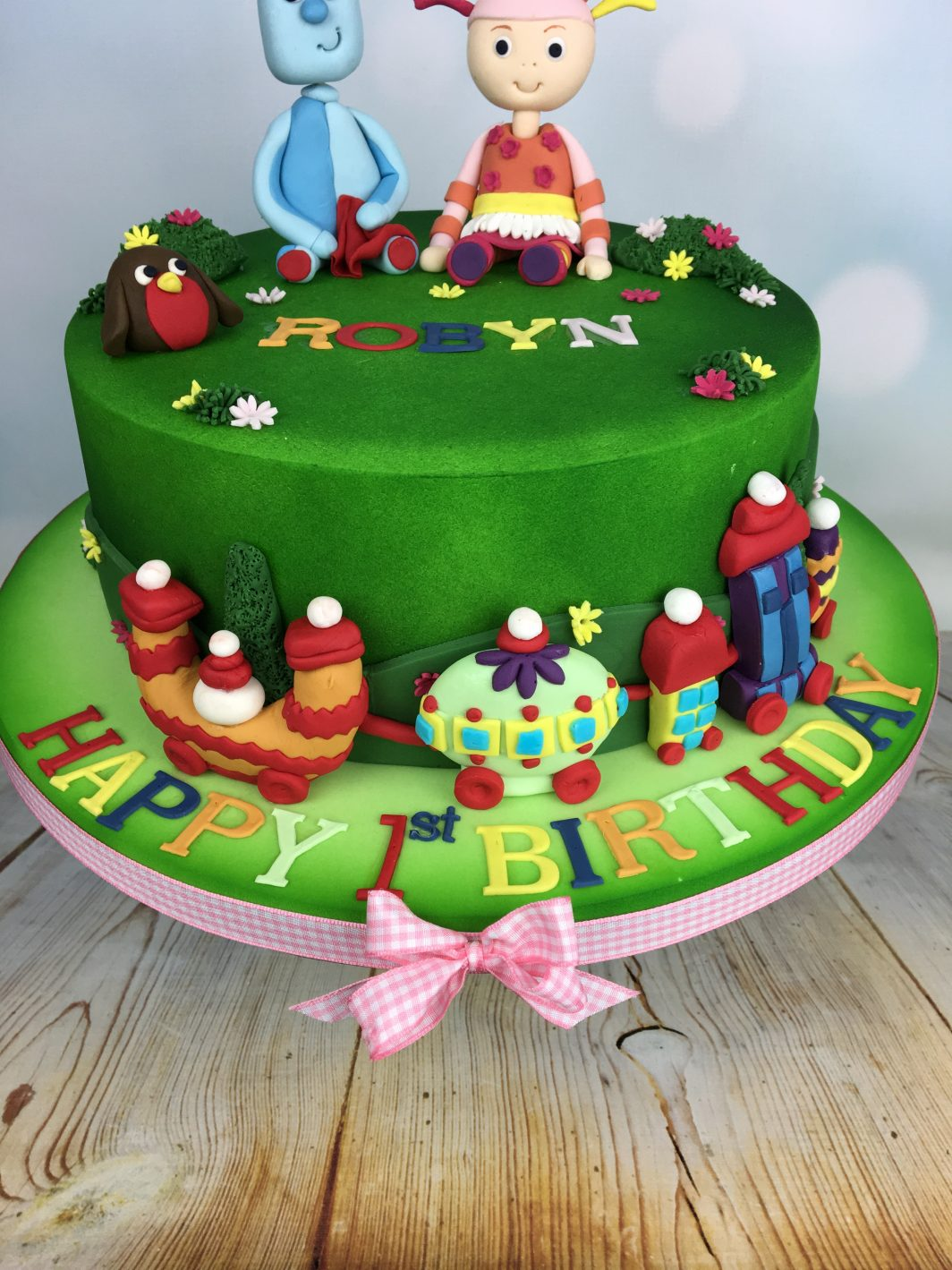 In The Night Garden Birthday Cake - Mel\'s Amazing Cakes