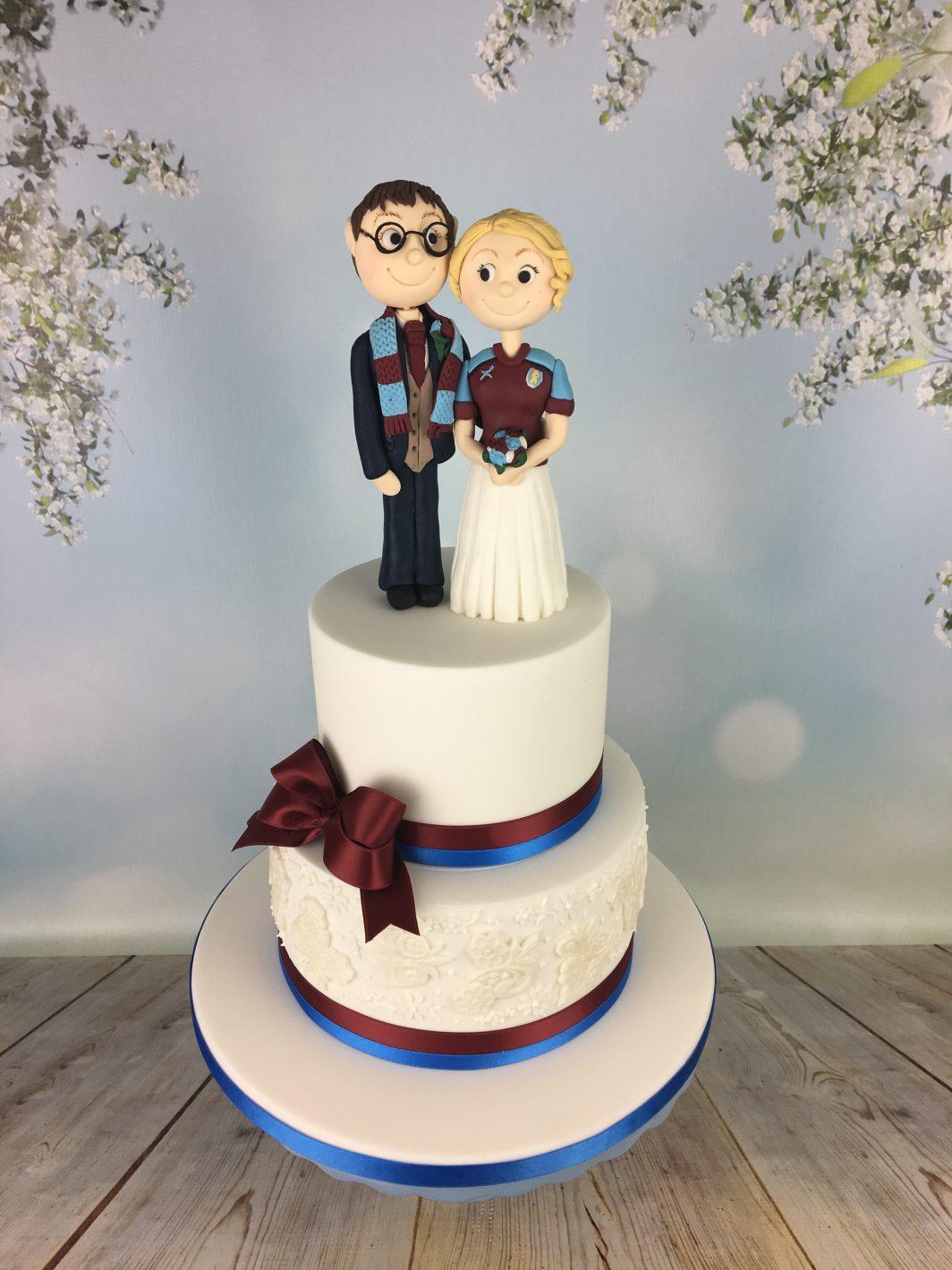 football club wedding cake