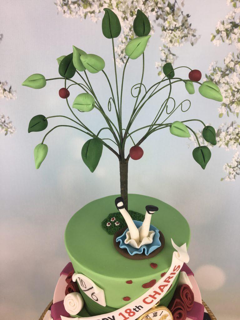 Alice In Wonderland Birthday Cake Mels Amazing Cakes