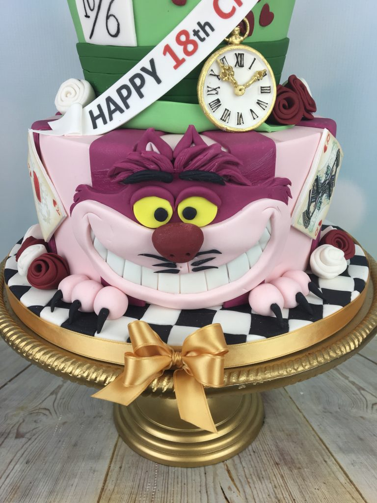 Superb Alice In Wonderland Birthday Cake Mels Amazing Cakes Personalised Birthday Cards Cominlily Jamesorg