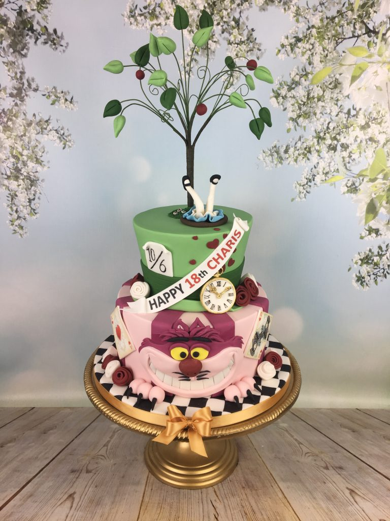 Cool Alice In Wonderland Birthday Cake Mels Amazing Cakes Funny Birthday Cards Online Alyptdamsfinfo