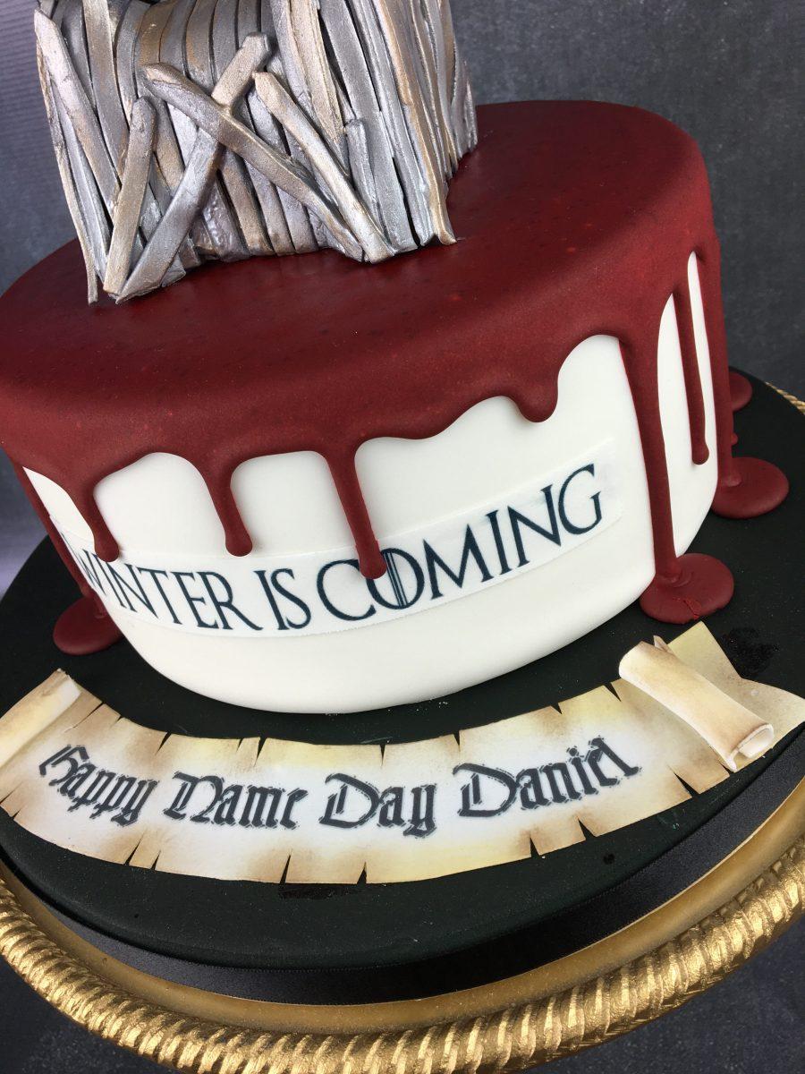 Game of thrones birthday cake - Mel's Amazing Cakes