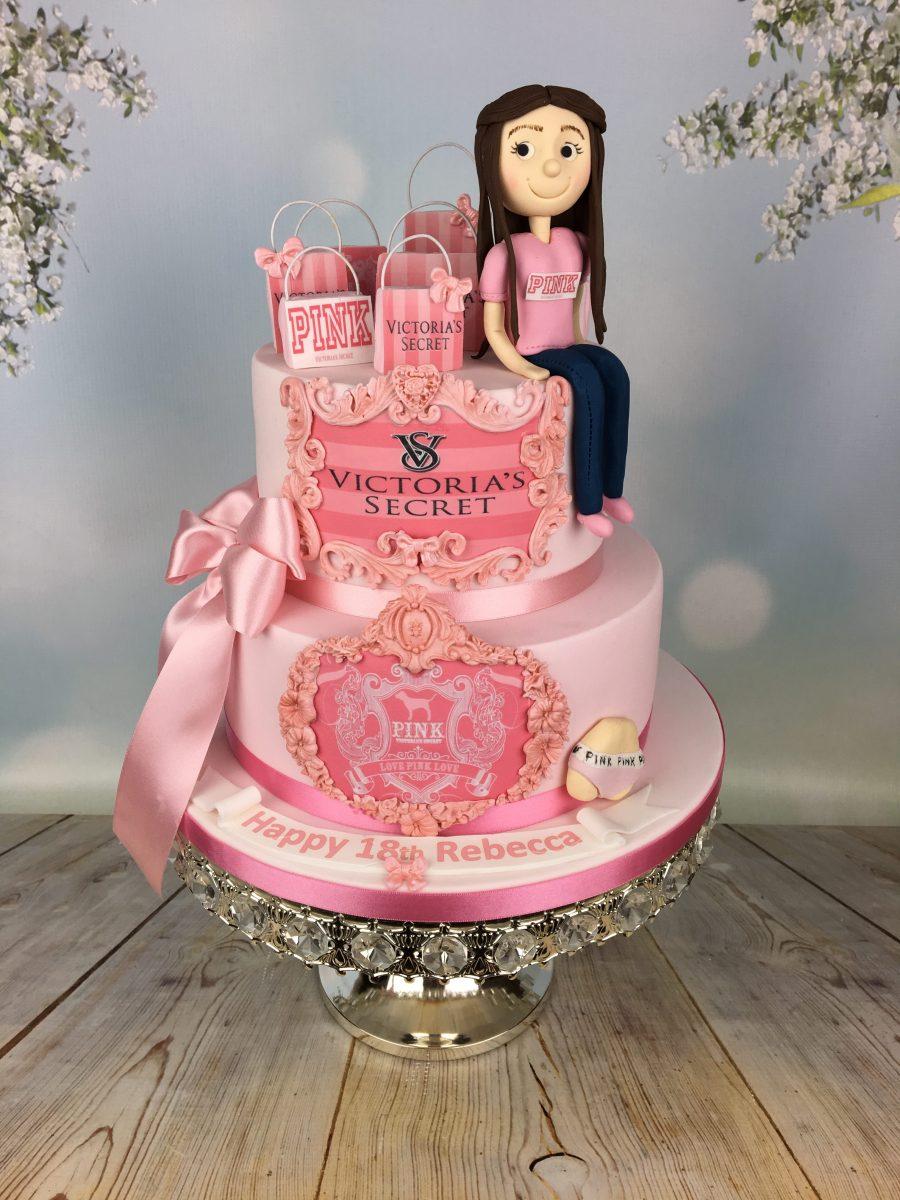 755ce592f4 Victoria Secret Birthday Cake - Mel s Amazing Cakes