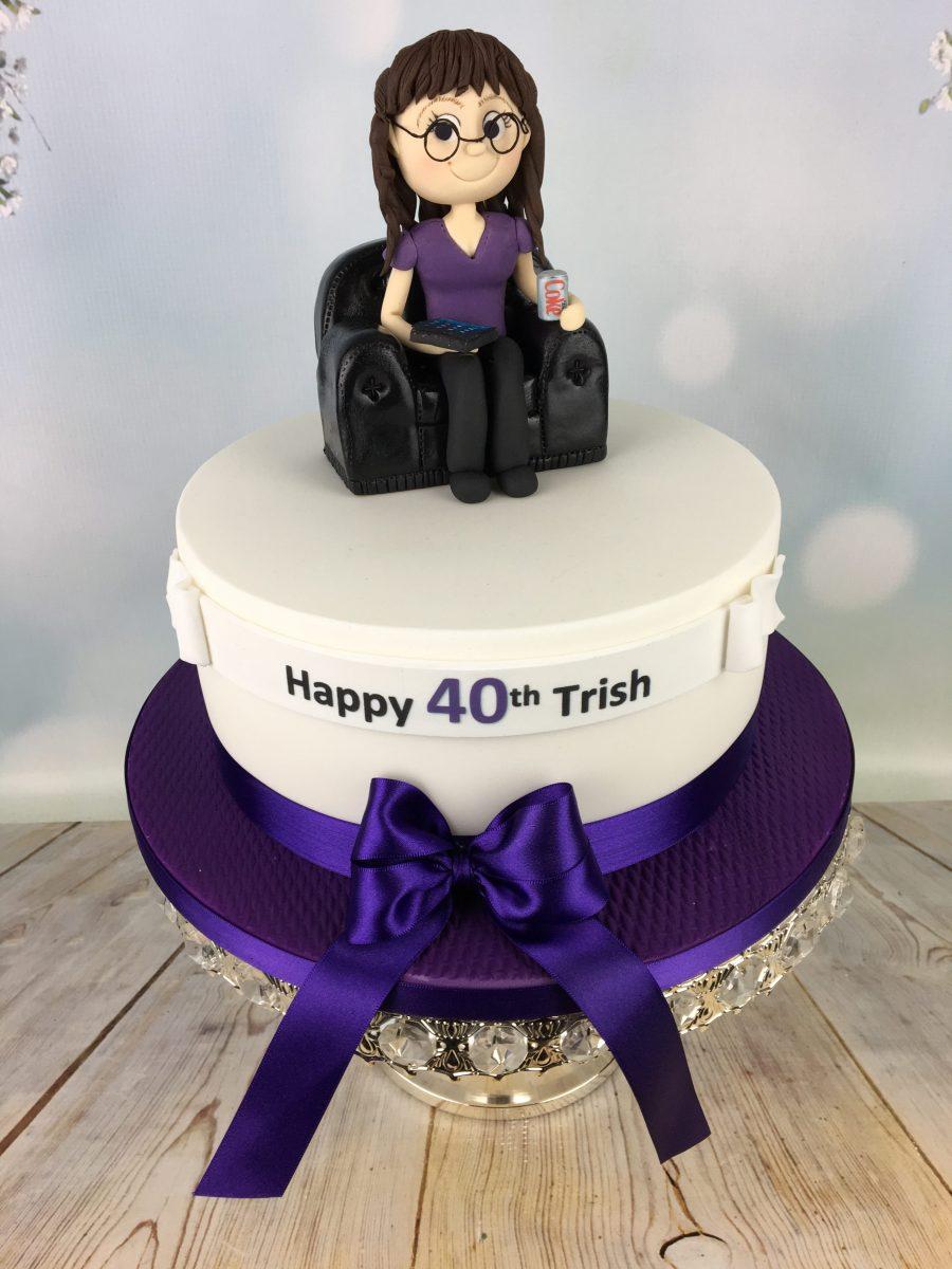 Sugar Figure Birthday Cake Mels Amazing Cakes
