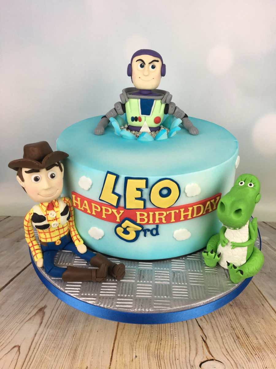 Admirable Toy Story 3Rd Birthday Cake Mels Amazing Cakes Funny Birthday Cards Online Overcheapnameinfo