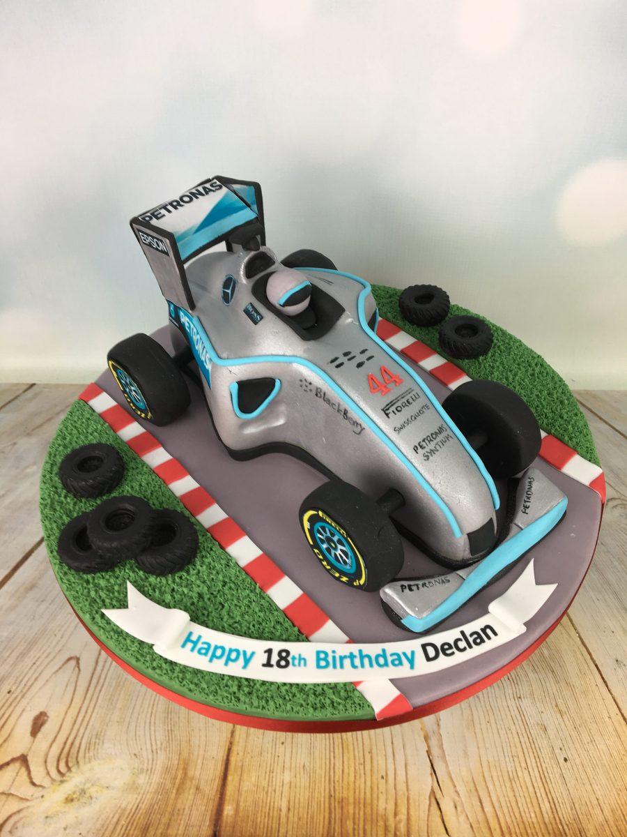 Lewis Hamilton Birthday Cake