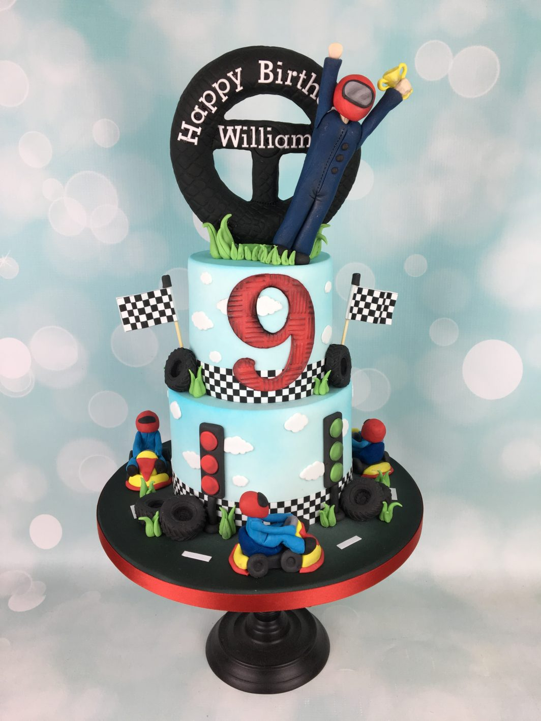 2 Tier Birthday Cake Archives Mels Amazing Cakes