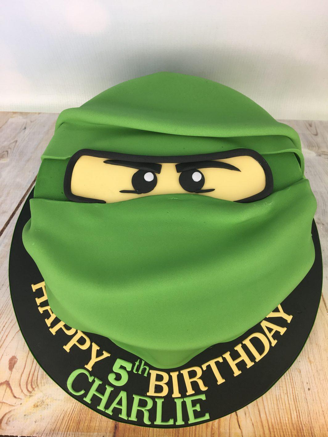 Lego Ninjago 5th birthday cake - Mel's Amazing Cakes