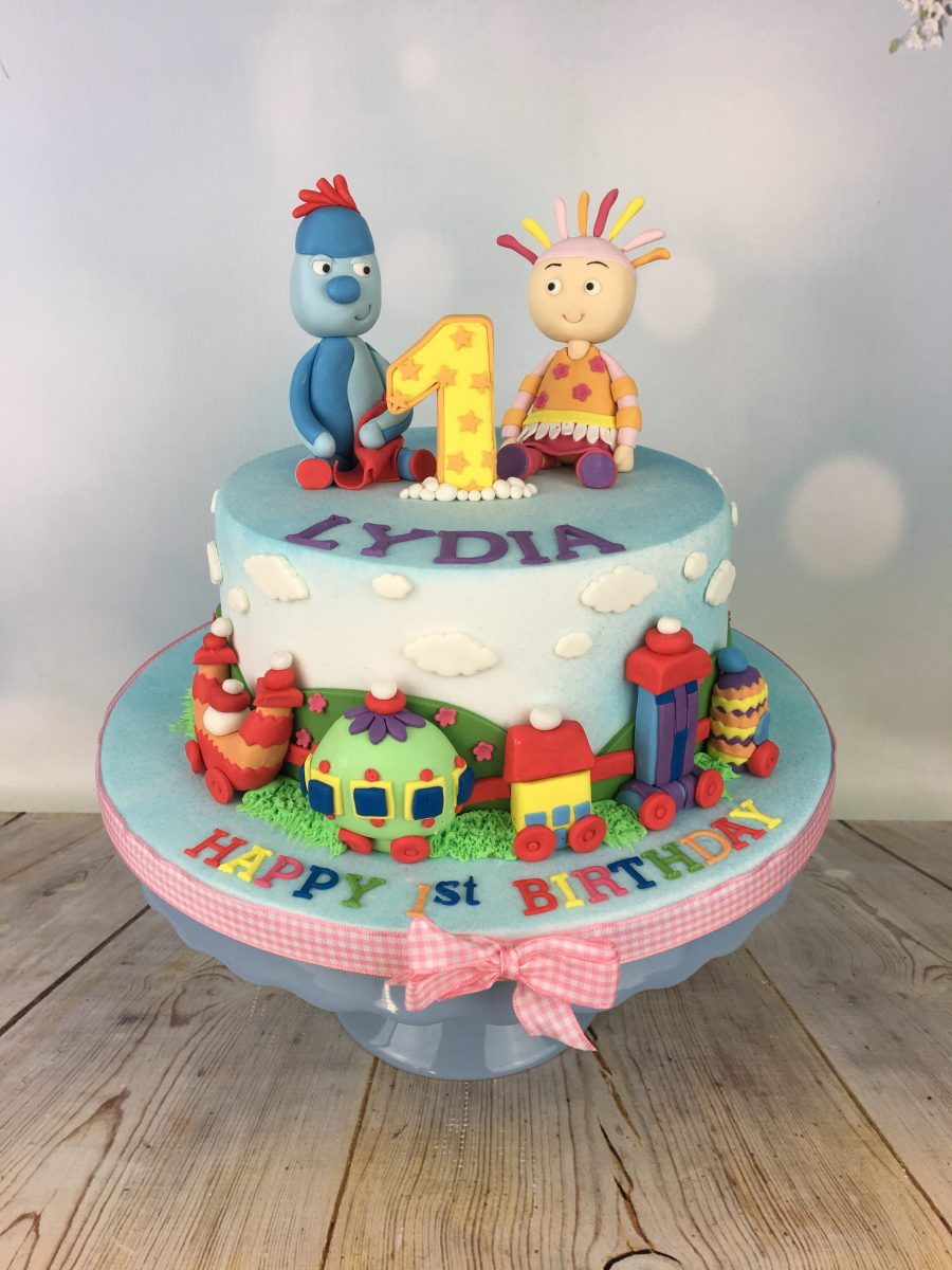 Strange In The Night Garden 1St Birthday Cake Mels Amazing Cakes Personalised Birthday Cards Rectzonderlifede