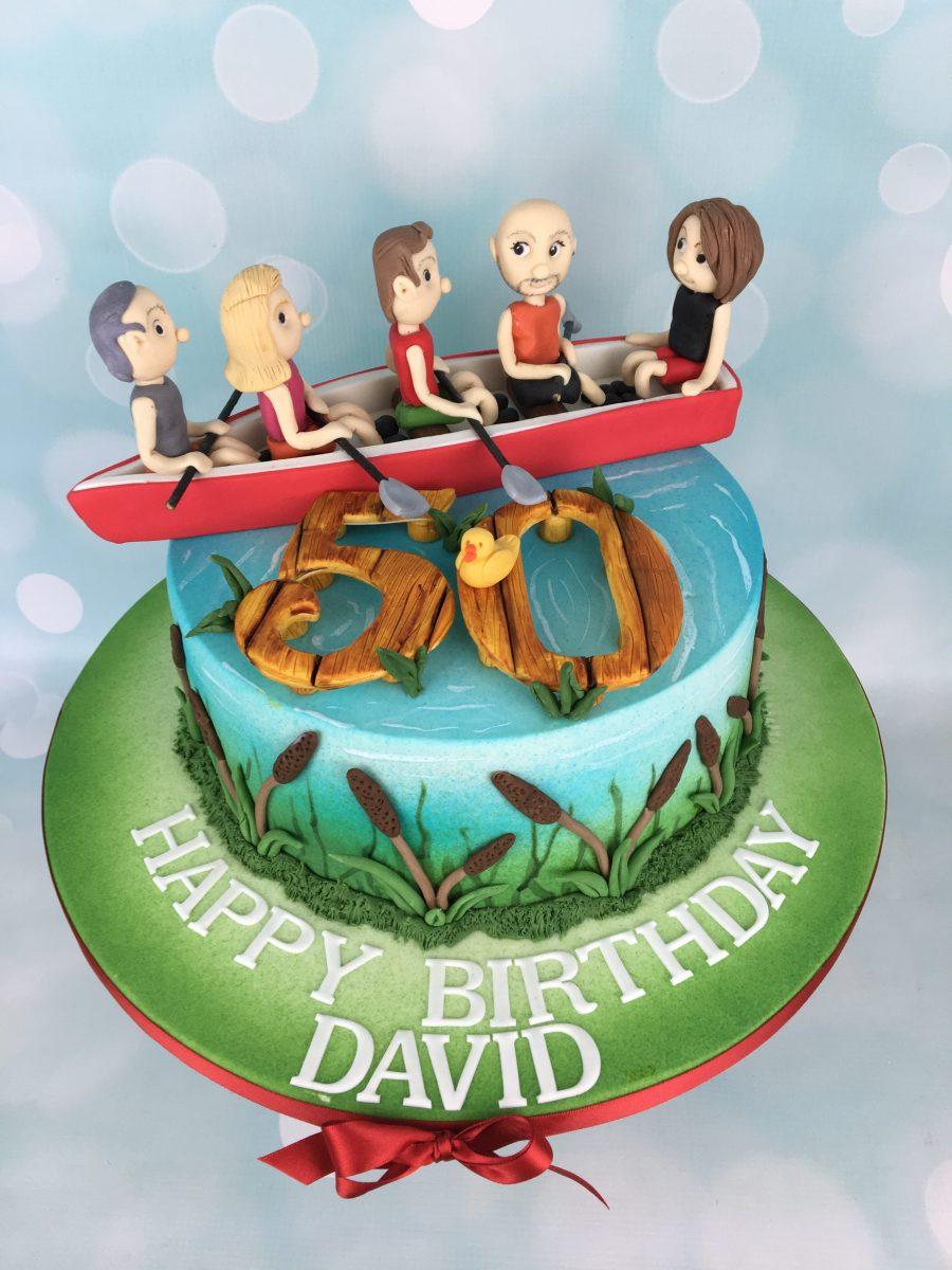 Rowing Birthday Cake Mel S Amazing Cakes