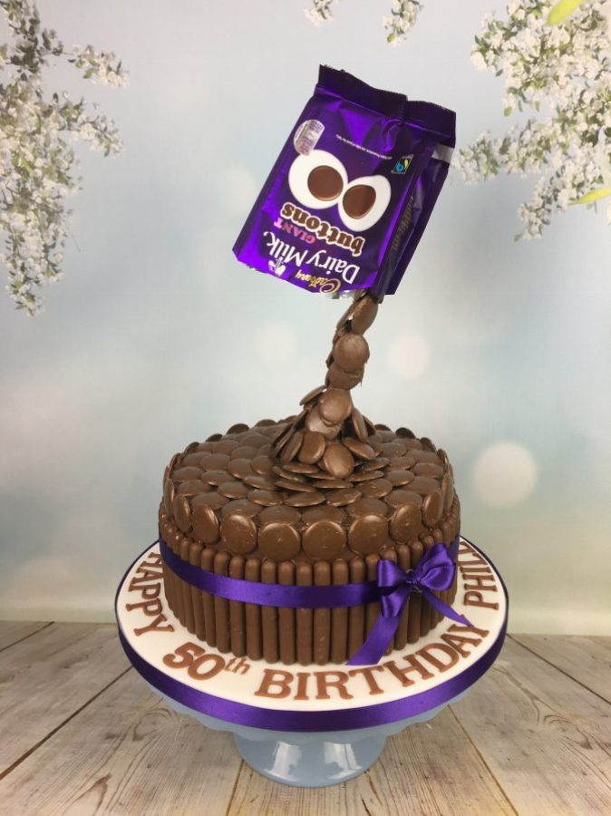 Cadbury Buttons Drip Cake Mel S Amazing Cakes