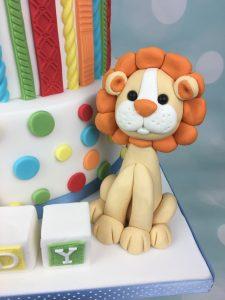 lion sugar figure