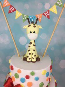 giraffe sugar figure