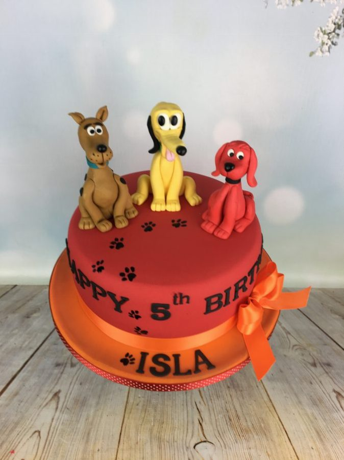 Childrens Character Cake