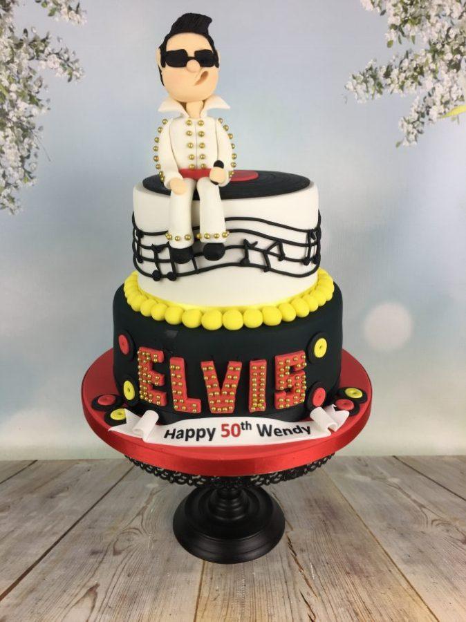 Elvis Presley Character Cake Mel S Amazing Cakes