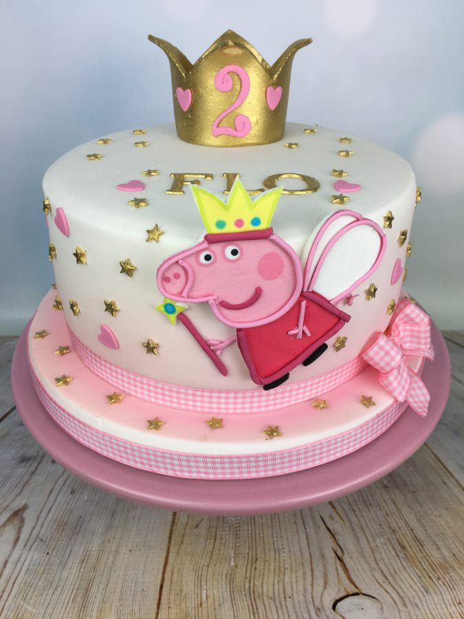 Super Peppa Pig Birthday Cake Mels Amazing Cakes Personalised Birthday Cards Paralily Jamesorg