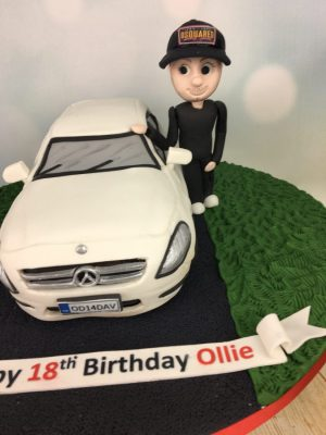 Car Cake with figure