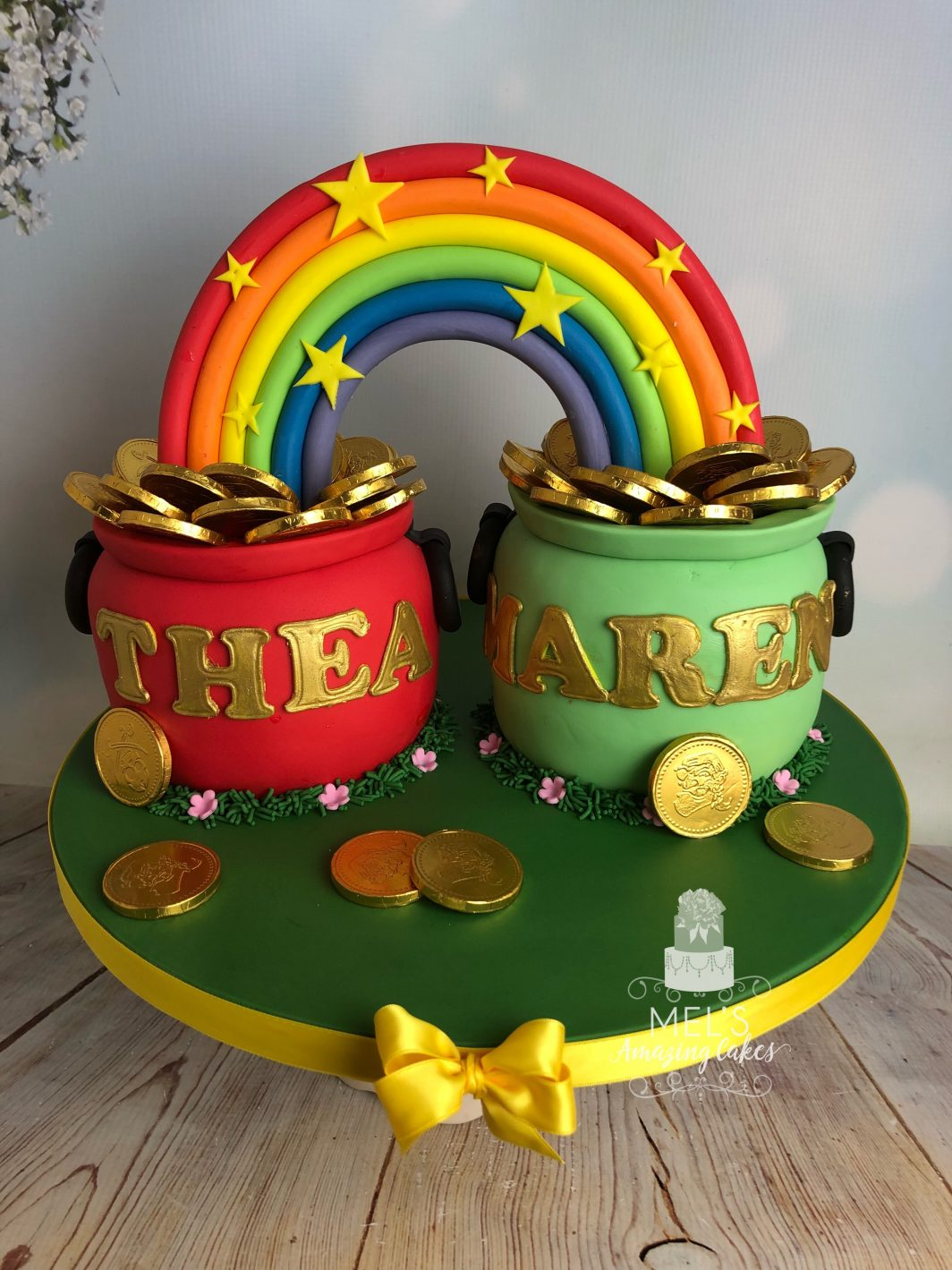 Pots Of Gold Cake
