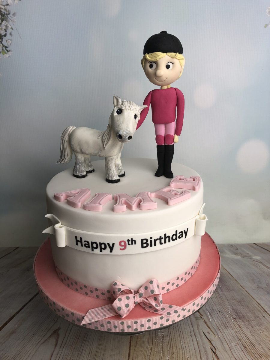 Wondrous Horse Riding Birthday Cake Mels Amazing Cakes Birthday Cards Printable Giouspongecafe Filternl
