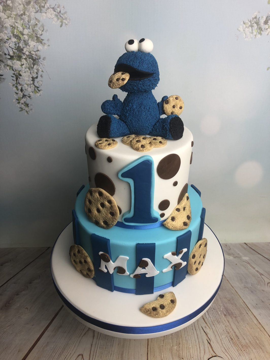 2 Tier Cookie Cake