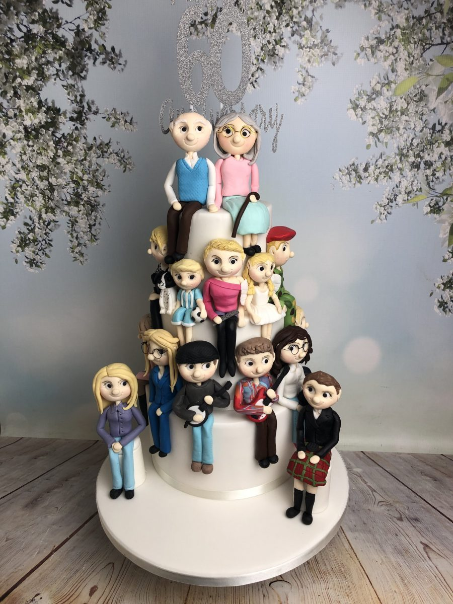 Cake With Sugar Figures