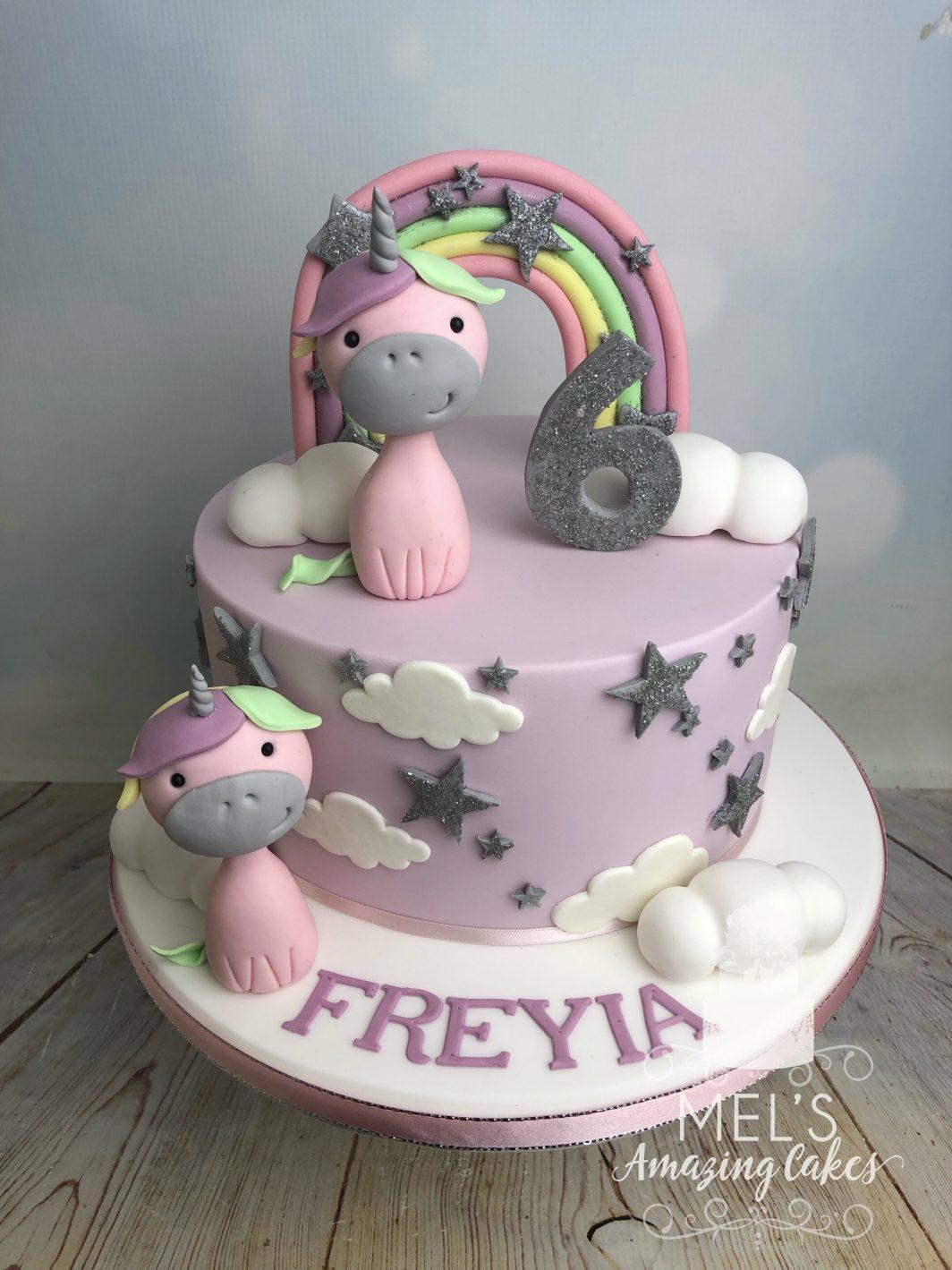 Admirable Unicorn Birthday Cake Mels Amazing Cakes Funny Birthday Cards Online Elaedamsfinfo