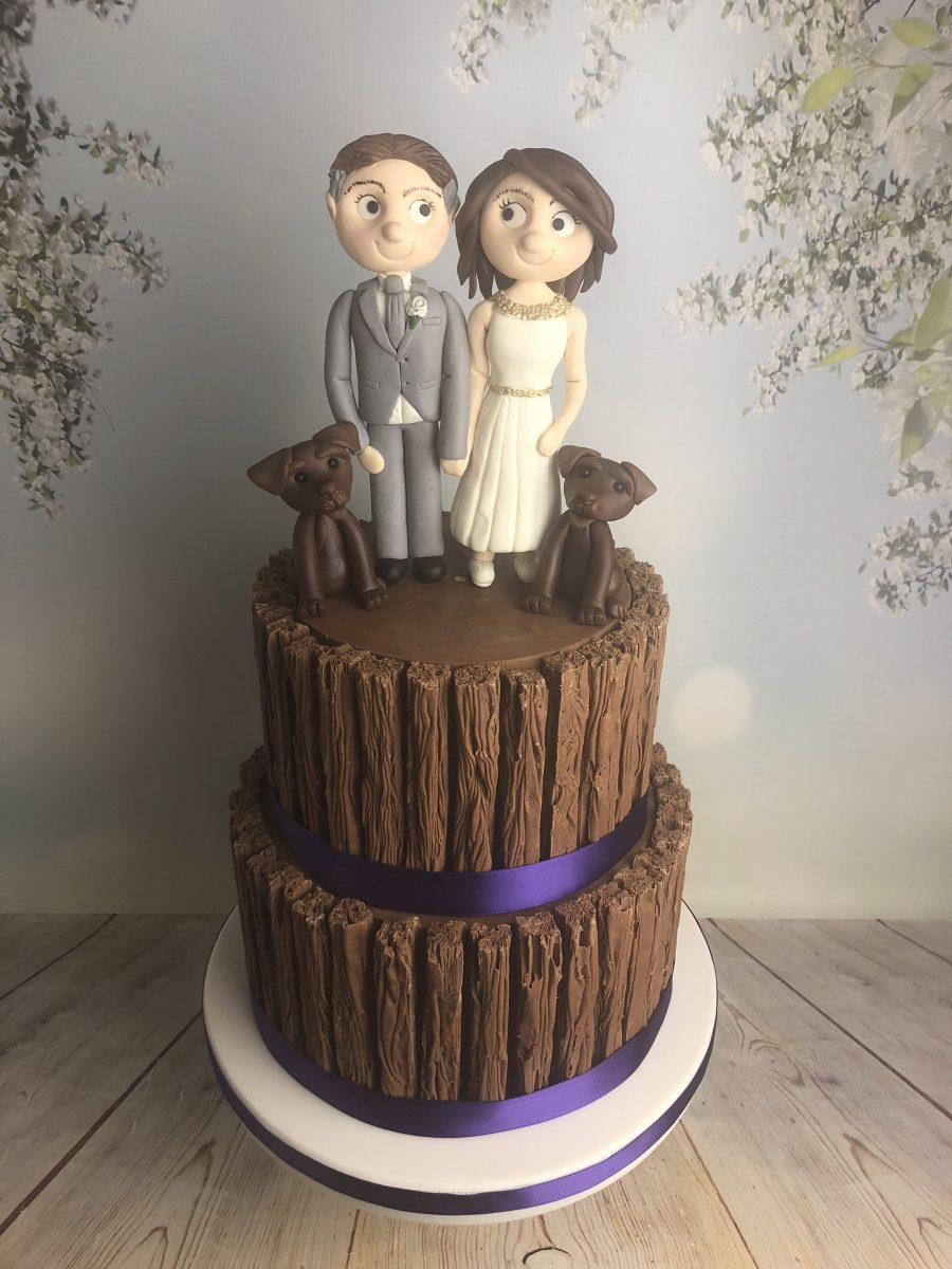 Flake Wedding Cake