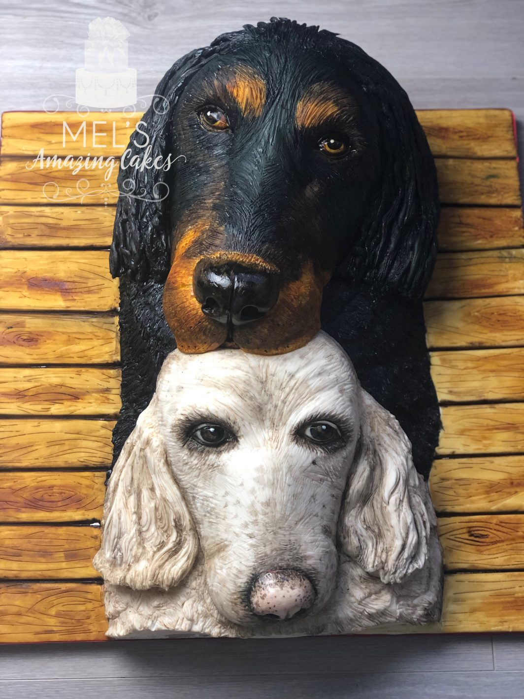 Pet Dogs Cake