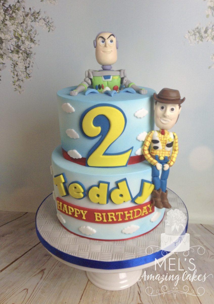 Woody & Buzz Cake