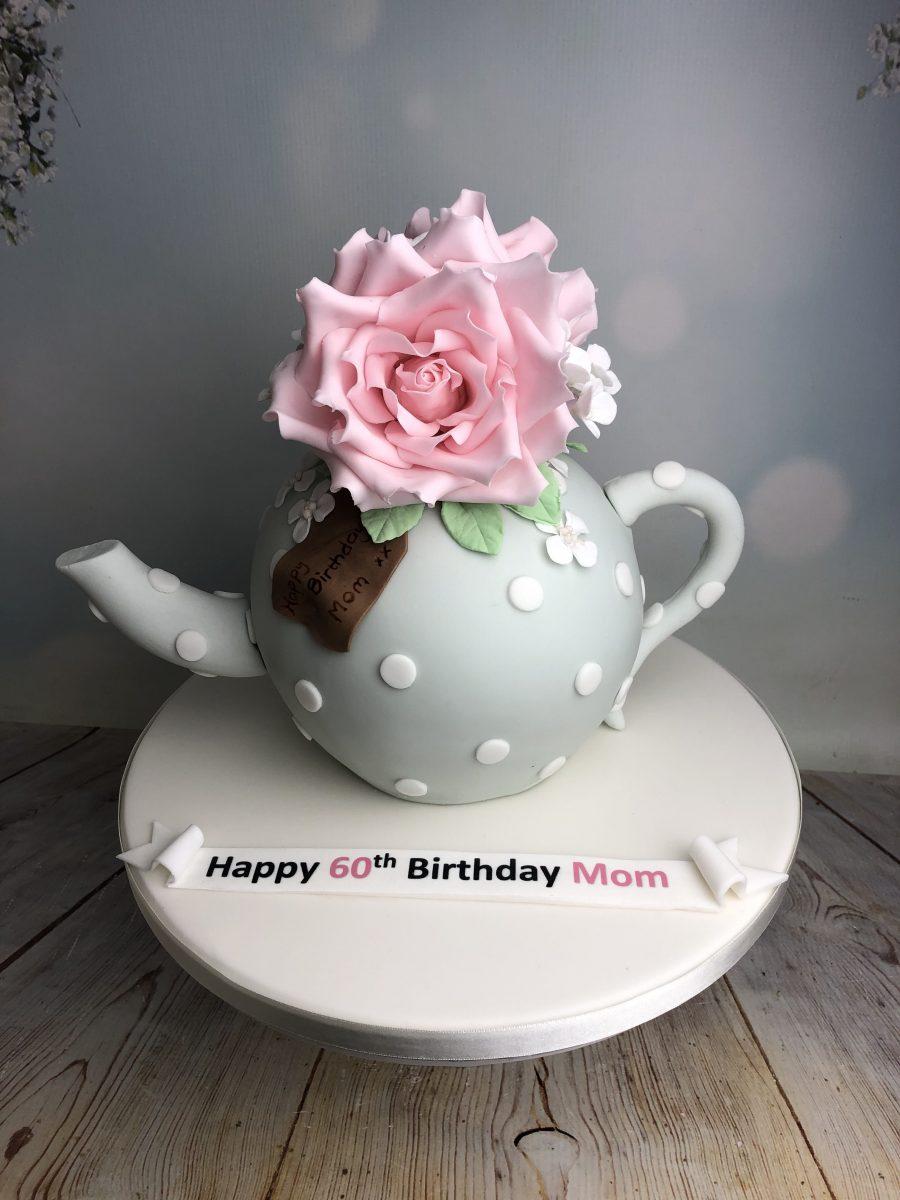 Teapot celebration cake